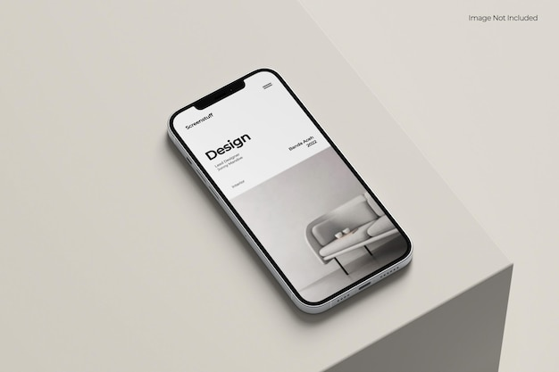 Maquette de téléphone intelligent pro max