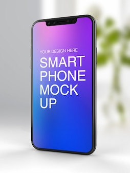 Maquette de téléphone intelligent psd