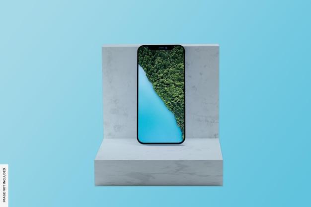 Maquette de téléphone moderne réaliste