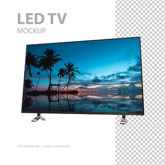 Maquette de télévision à écran plat