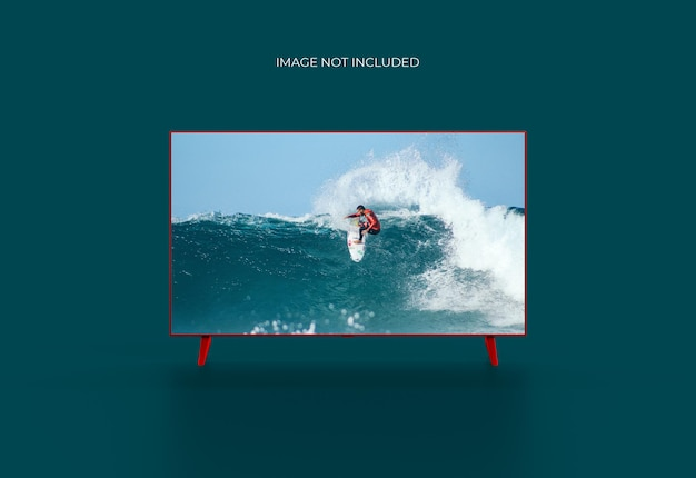 Maquette de télévision intelligente