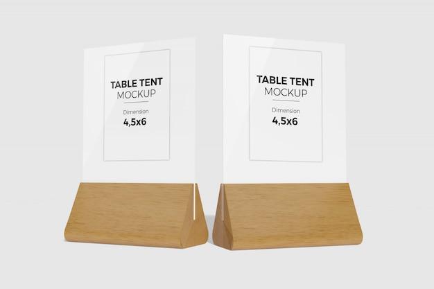 Maquette de tente de table 2
