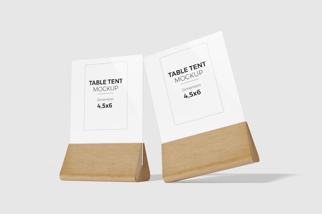 Maquette de tente de table 4