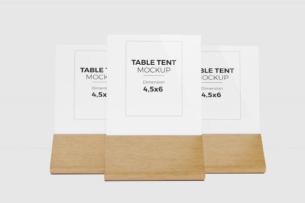 Maquette de tente de table 6
