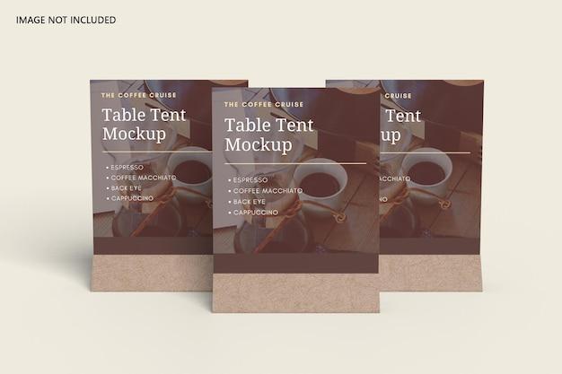 Maquette de tente de table