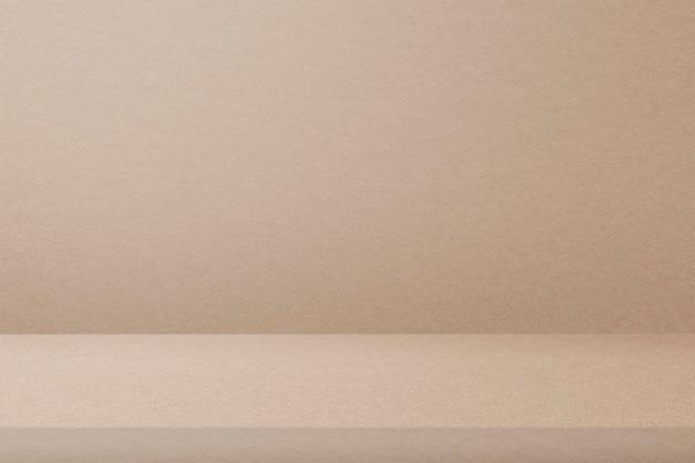 Maquette de toile de fond de produit beige psd