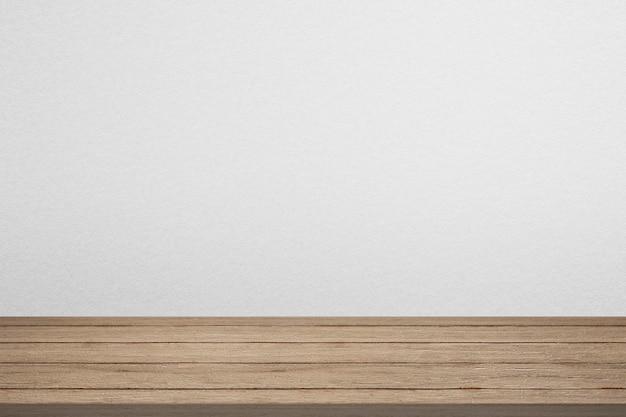 Maquette de toile de fond de produit en bois psd