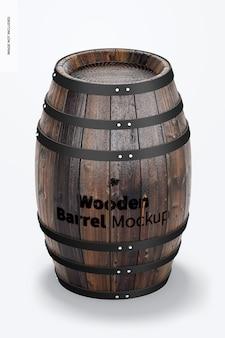 Maquette de tonneau en bois