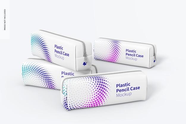 Maquette de trousse à crayons en plastique