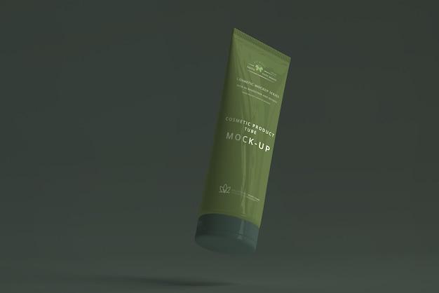 Maquette de tube cosmétique
