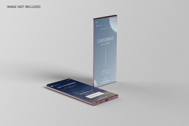 Maquette ultra smartphone