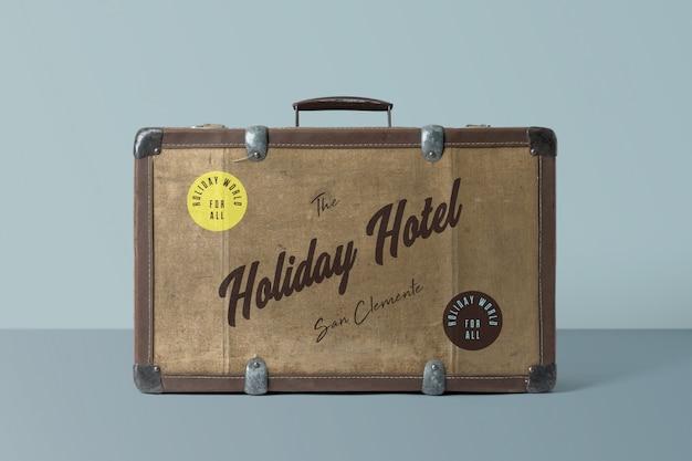Maquette de valise