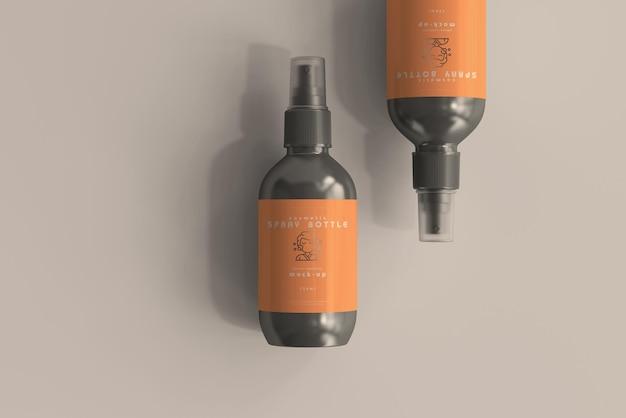 Maquette de vaporisateur cosmétique