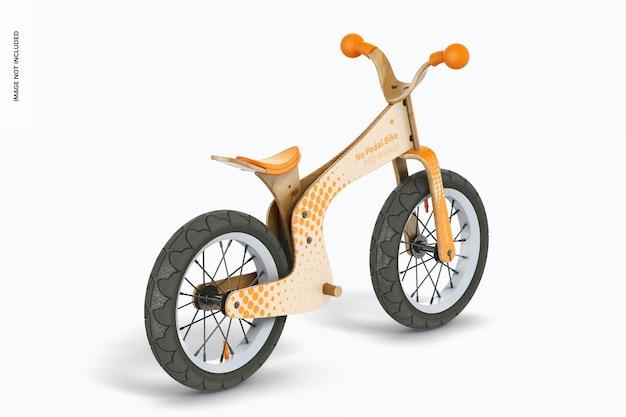 Maquette de vélo sans pédale, vue de droite
