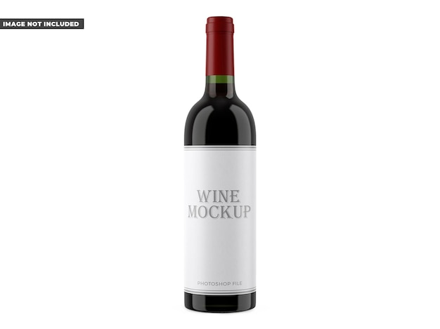 Maquette de vin