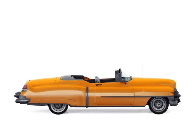 Maquette de voiture ancienne convertible