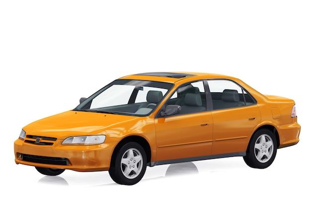 Maquette de voiture berline 1998