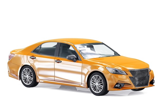 Maquette de voiture berline 2013