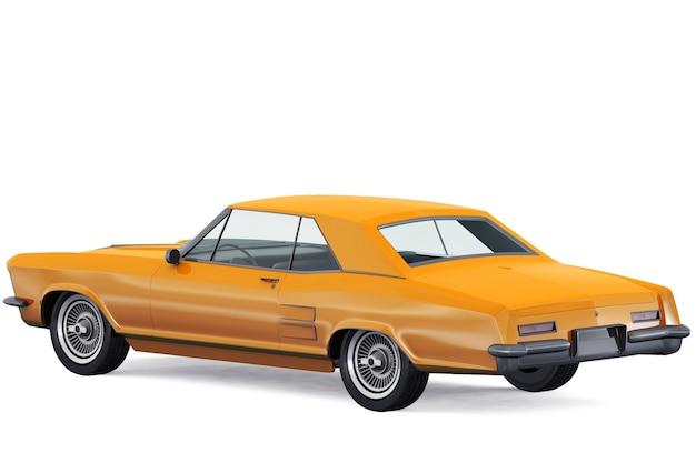 Maquette de voiture berline vintage