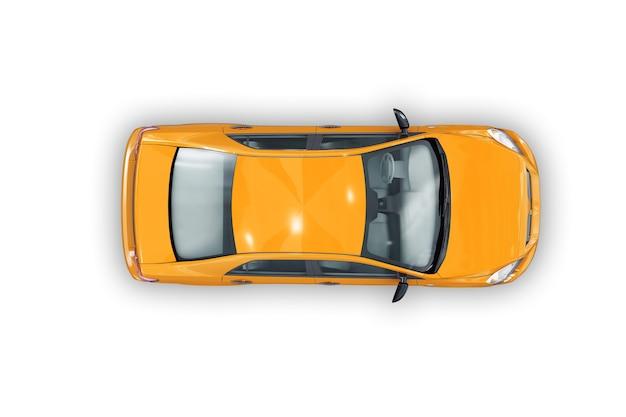 Maquette de voiture berline