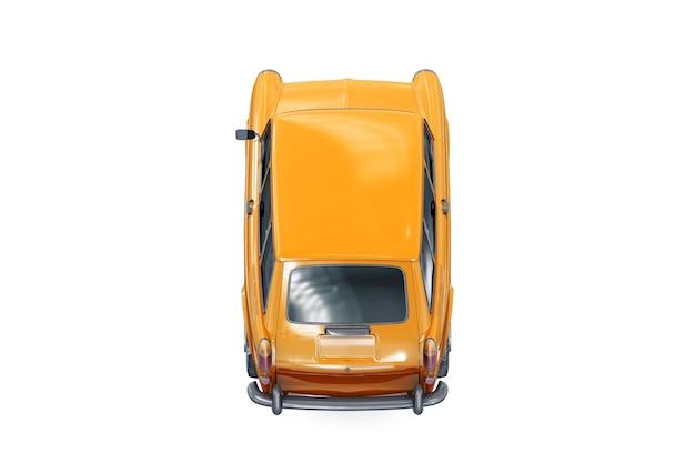 Maquette de voiture combi rétro wagon 1965