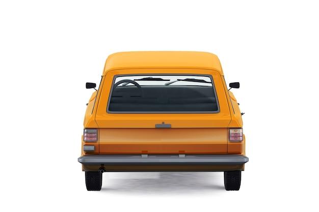 Maquette de voiture combi rétro wagon 1967