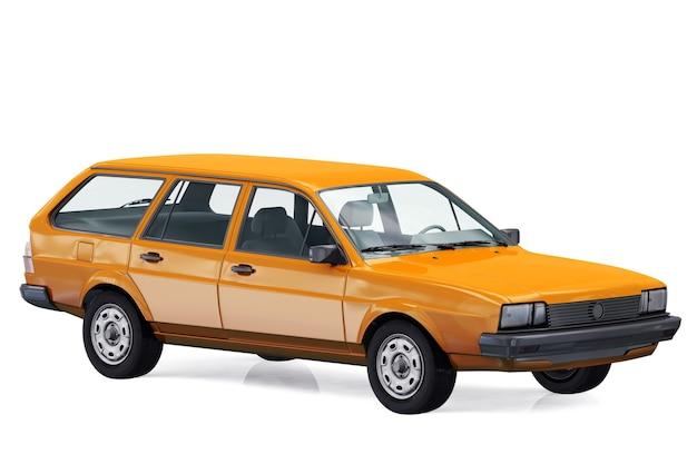 Maquette de voiture combi wagon 1980
