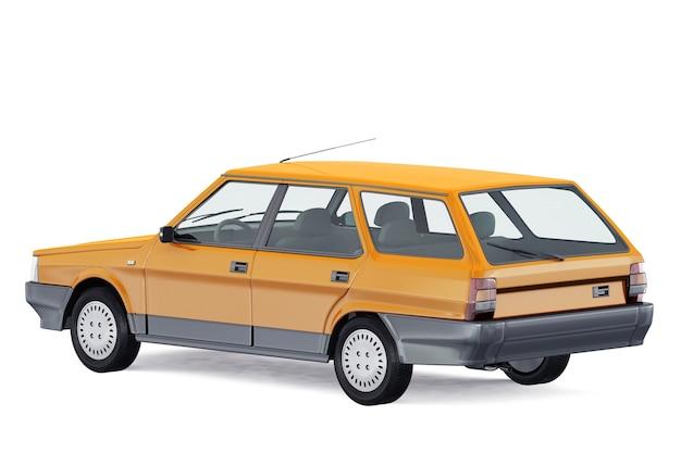 Maquette de voiture combi wagon 1984