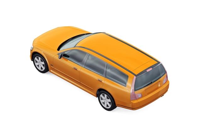 Maquette de voiture combi wagon 2001