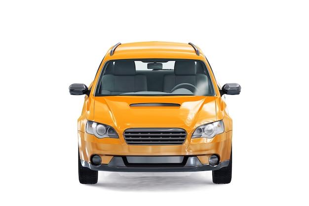 Maquette de voiture combi wagon 2008