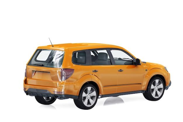 Maquette de voiture combi wagon 2009