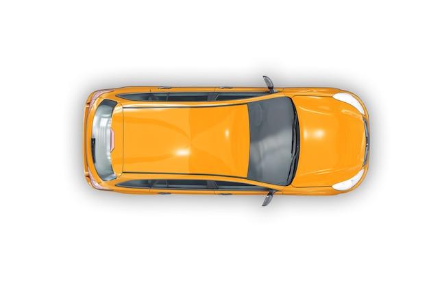 Maquette de voiture combi wagon 2010