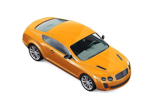 Maquette de voiture coupé 2010