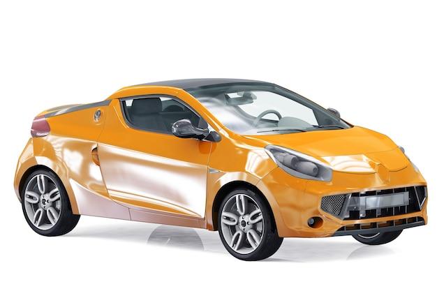 Maquette de voiture coupé 2011