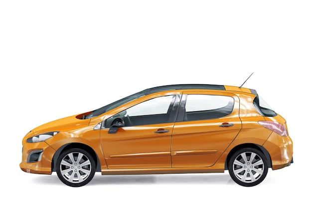 Maquette de voiture coupé 2012