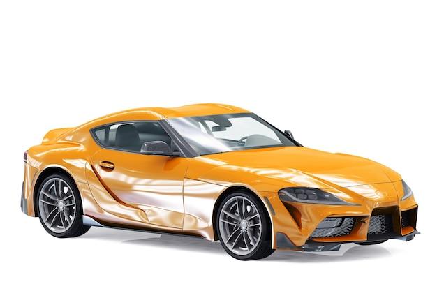 Maquette de voiture coupé 2019