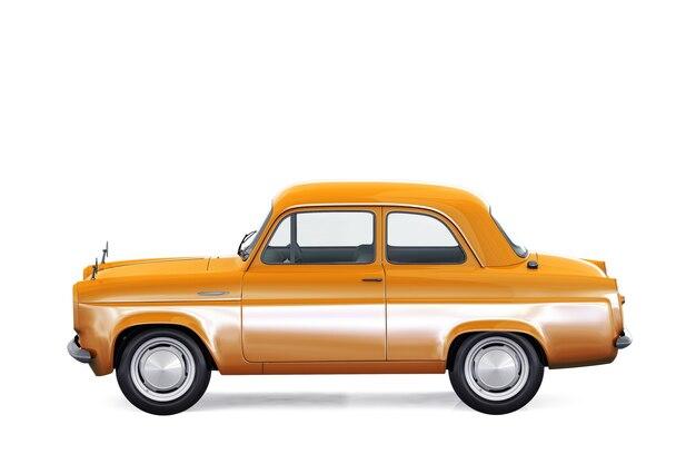 Maquette de voiture coupé rétro 1953