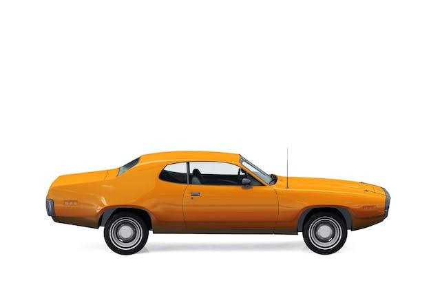 Maquette de voiture coupé rétro 1971