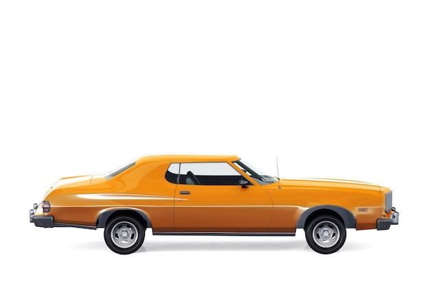 Maquette de voiture coupé rétro 1974