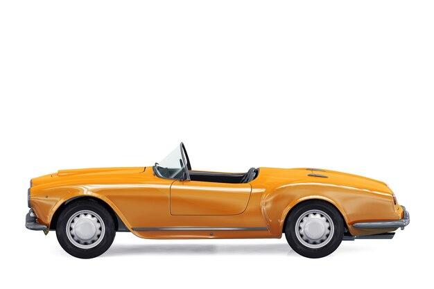 Maquette de voiture décapotable de 1954