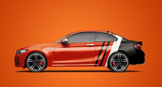 Maquette d'une voiture générique de luxe