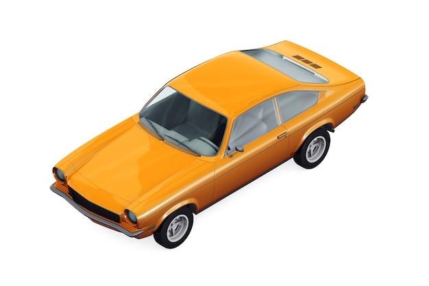 Maquette de voiture à hayon 1971