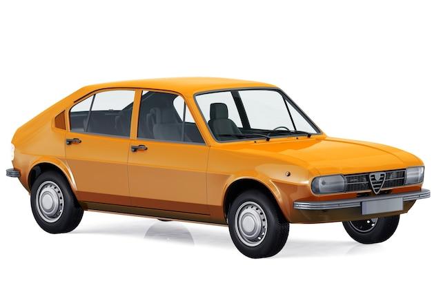 Maquette de voiture à hayon 1972