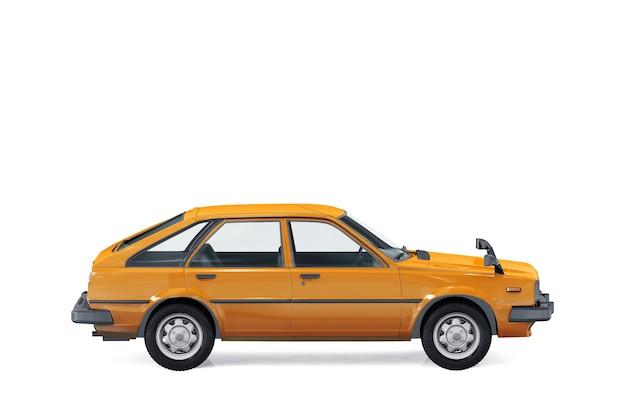 Maquette de voiture à hayon 1980
