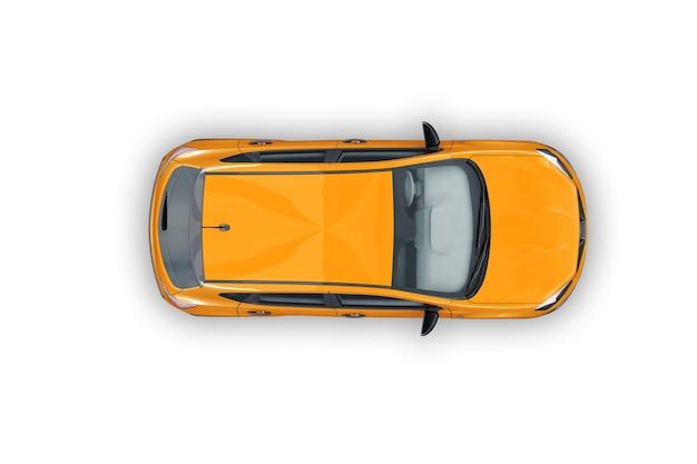 Maquette de voiture à hayon 2010