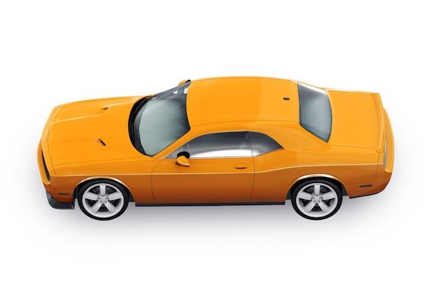 Maquette de voiture de muscle
