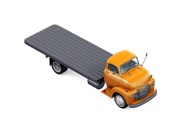 Maquette de voiture pick-up rétro 1948
