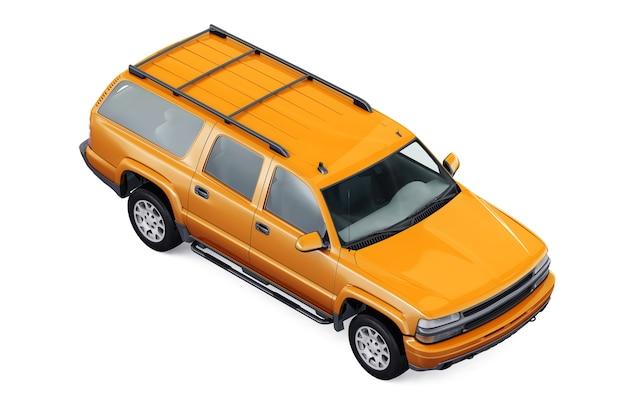 Maquette de voiture suv 4x4 2005