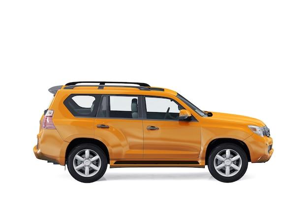 Maquette de voiture suv 4x4 2010