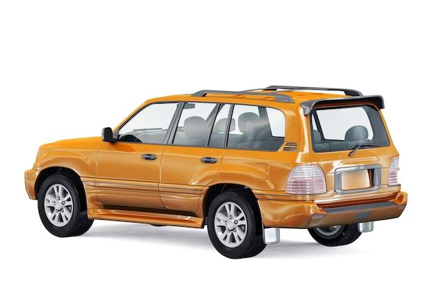 Maquette de voiture suv 4x4